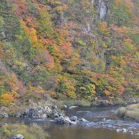 紅葉の山深いローカル線「山田線」から車窓を楽しむ旅(岩手)