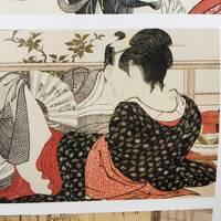 文京区目白台(江戸川)の永青文庫に春画展を見に行く