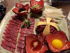 週末弾丸2年ぶりアニョハセヨ釜山はパークハイアット釜山に泊まりユッケなど生肉三昧に蛸の踊り食いに海鮮鍋食べて〆は巨大フルーツワッフル。でもって、今回も旅費はタダ \(^o^)/