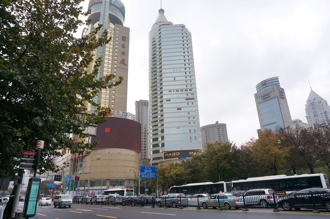 11月17日<br />上海から日本へ戻ります