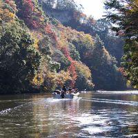 亀山湖紅葉クルーズと養老渓谷