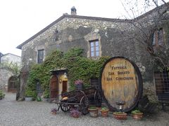 キャンティワイン農家 (サン・ジミニャーノ)