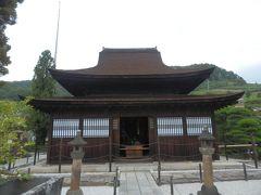 回顧録 2013年9月後半3連休 山梨の旅(3) 甲斐善光寺など