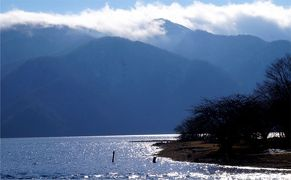 初冬の中禅寺湖畔散策。野鳥と明治のリゾート文化遺構を発見。
