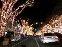 東京イルミネーションドライブ(2015年12月)