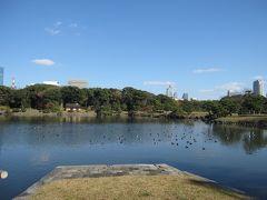 2015年12月 浜離宮(都立文化財9庭園①)と水上バスで浅草まで