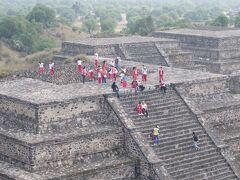 2015 メキシコシティーで15時間のトランジット テオティワカン遺跡へ