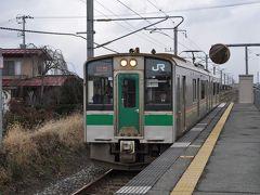 2015年12月週末パスの旅6(奥羽本線に乗って米沢駅へ)