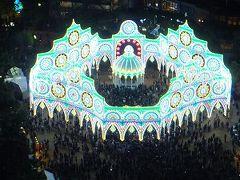 2015のルミナリエ;今年からIED電球