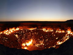 ウズベキスタン&トルクメニスタン:地獄の門@ダルヴァザ、など