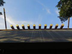 2015秋、熱田神宮(6):9月30日(6):本殿、神楽殿、土用殿、竜神社、御田神社、清水社
