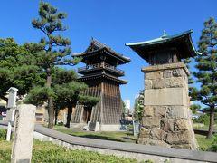 2015秋、宮の渡し(1):10月7日(1):旧東海道、宮の渡し(七里の渡し)、熱田湊常夜灯、時の鐘