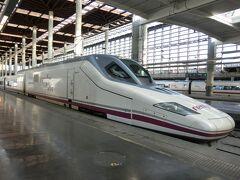 2015年10月 凱旋門賞とポルトガル、スペイン鉄道の旅 (10) バレンシア前半 AVE乗り鉄編