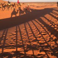 ~青い迷路シャウエン、サハラ砂漠とモロッコ絶景の旅~メルズーガ・エルフード・トドラ渓谷・ワルザザート(6日目)