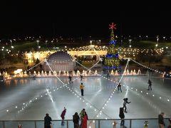 週末は野外アイススケート!~ダウンタウンサマリン ロックリンク~レイア姫もモーレツガールズもクリスマスツリーも!!!~