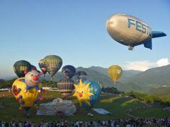 熱気球フェスティバルを見に台湾へ4.鹿野高台「熱気球嘉年華」