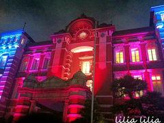東京ミチテラス2015東京駅スペシャルライトアップ&光のプロムナードとパディントン試写会