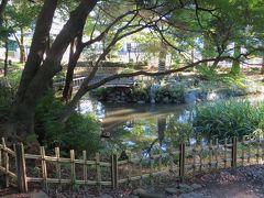 2015秋、東別院と古渡城址(3:完):9月18日(3):下茶屋公園、江戸時代の再建庭園、瓢箪池、雪見灯篭
