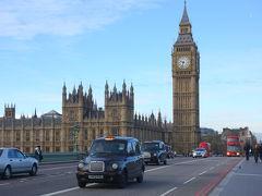 週末ロンドン① 定番スポット一周編 (トラファルガー広場、ビッグベン、タワーブリッジ)