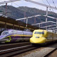 JR西日本「500 TYPE EVA」エヴァンゲリオン新幹線を追いかけて(+ ドクターイエローも追いかけて)