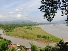 ⑥ ゴールデントライアングル展望台・メコン川の向う岸ラオスへ上陸・ タイ最北端メーサイから徒歩でミャンマーへ (12/21午後)