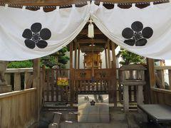 2015秋、大須観音に縁が深い北野神社:9月19日:大須演芸場、鳥居、手水舎、狛犬、牛像、天神社、稲荷神社