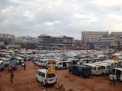 2015年末年始は東アフリカ4ヶ国の旅(2)キガリからウガンダのカンパラに移動してちょこっと町を散策