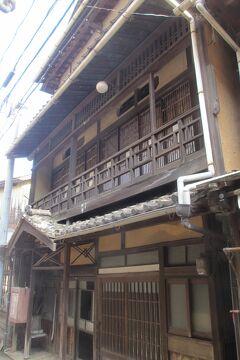 旅ラン 古風な木造3階建て、木江の町を散策 3日目午前