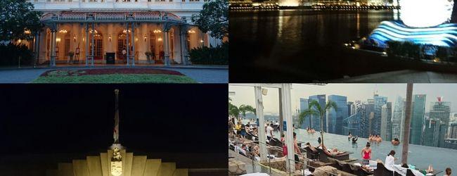 ホテルライフを満喫!充実のシンガポール...