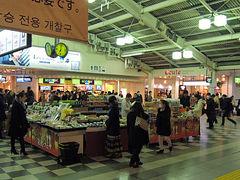 品川駅ナカで東北フェア、物産展、やってますよ~