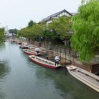 台風接近の福岡佐賀旅行。 1日目 雨の柳川紀行