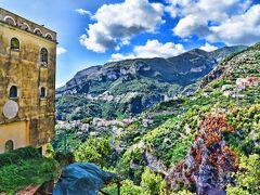 2015南イタリア世界遺産巡り~6.高台から海岸を見渡せる街ラヴェッロ~
