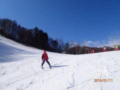 旅のお小遣い帳<2016かたしな高原スキー場>