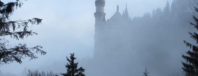 ディズニーのお城 冬のノイシュヴァンシ...