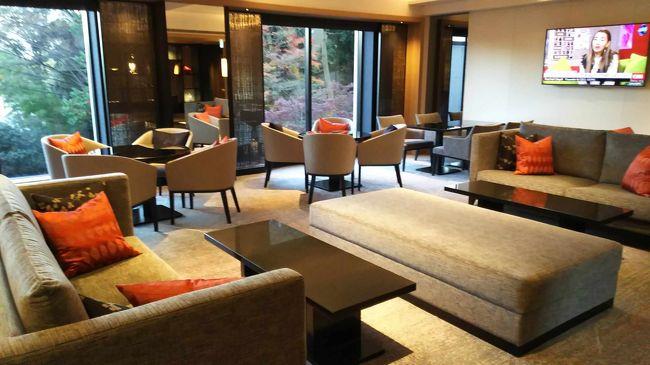 白金のシェラトン都ホテル東京、クラブラウンジができた!!<br />というニュースを聞いたので、年末の大掃除の合間に泊まってみることにしました。<br /><br />1979年に都ホテルとして開業し、2007年からシェラトンになったそうです。<br />建物は古いけど内部は改装が進み、館内に当時の面影がのこる箇所は少ないそうです。<br /><br />※2015年12月の情報です。変更される可能性があります。
