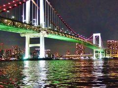 屋形船から見る東京の夜景は別世界 ☆彡