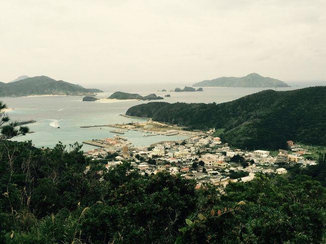 八重山諸島の島々は結構行っているのですが、そう言えば沖縄本島近辺の島々は全然行ってなかったなぁと、昨年12月にまずは久米島に行きました→http://4travel.jp/travelogue/11083741<br />今回は第2弾♪土日を使って慶良間諸島(阿嘉島、慶留間島、外地島、座間味島)に行ってきました。トラベラーさんたちとの予期していたのみならず、予期せぬ出会いもあり、楽しい週末でした(^^)<br />沖縄までの往路はJALの海外乗継割引チケット、復路はユナイテッド航空の特典の一部を利用しています。<br /><br /><br />【行程】<br />1/16 東京〜沖縄〜阿嘉島〜座間味島<br />1/17 座間味島〜沖縄〜東京<br /><br />【フライト】<br />16 JAN JL 901 F HND OKA 0620 0910<br />17 JAN NH 474 Y OKA HND 1815 2025<br />(JL:JALのHPで発券したダイナミックセイバーエコノミー航空券「東京(HND)/沖縄(OKA)//東京/ソウル/東京/沖縄」\45,000+Taxを使用開始、羽田沖縄間は\8,000でファーストクラスにアップグレード)<br />(NH:UA特典で発券したANAエコノミー特典航空券「沖縄(OKA)/東京(HND)/シドニー/オークランド/ヌクァロファ/オークランド/シドニー/東京/大阪」42,500マイル+Taxを使用開始)<br /><br />【宿泊】<br />1/16 座間味 民宿やどかり 和室2食付き