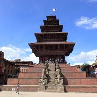 ネパールへボランティアNO.3・・・カトマンズ・地震で崩壊した世界遺産の街バクタプル&バンコクへ