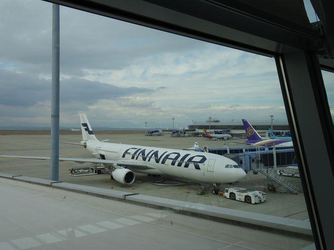 [女性限定おひとり参加限定] というツアーに参加して憧れのオーロラを見るべく真冬のフィンランドへ行ってきました。参加者は20代〜70代の元気な女性ばかり、もちろん添乗員さんも女性です。オーロラは見られるかな?<br /><br />1日目  セントレア〜ヘルシンキ  ヘルシンキ泊<br />2日目  ヘルシンキ市内観光<br />     タンペレ市内観光     サンタクロースエクスプレス車中泊<br />3日目  サンタクロース村 <br />       トナカイ牧場       ルオスト泊<br />4日目  アイスビレッジ      ロバニエミ泊<br />5日目  ロバニエミ〜ヘルシンキ〜<br />6日目  セントレア<br />