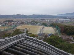 伊賀上野城と松阪城