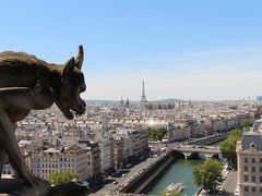 初めてのパリ旅行☆3days ノートルダム大聖堂~凱旋門