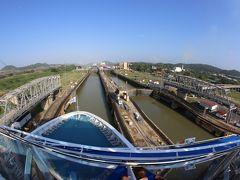 ファーストクラスで行くパナマ運河クルーズ             パナマ運河通過