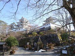 雪解けの郡上八幡城と下呂温泉の日帰り旅