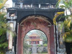 ベトナム、フエのミンマン帝廟、2011年に1996年の雪辱を果たす。