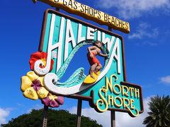 ハワイ part4 モヤモヤさまぁーずの聖地へ向かう。ノースショアでガーリックシュリンプ食べ比べ