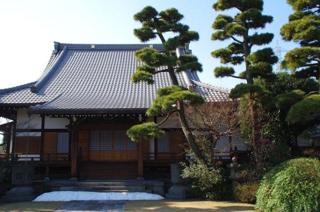 温かい日差しが注ぐなか、古色を宿す烏山寺町を散策してきました。<br />世田谷にこんな古い寺が多く在るなんて初めて知りました。