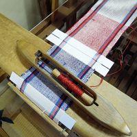 紬の町・結城【機織り編】 紬の里でコースター作り