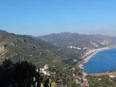 シチリアだけに2週間:Castelmola~Taormina.