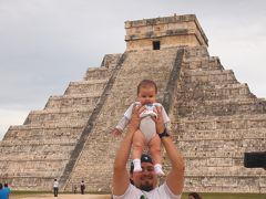 魅惑の国メキシコ一人旅(2)一日ツアーの後半 チチェン・イツァー遺跡→バヤドリッド→カンクン