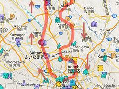 【埼玉県】痛車、鷲宮神社、氷川神社、初めての埼玉、ハイドラCP巡り
